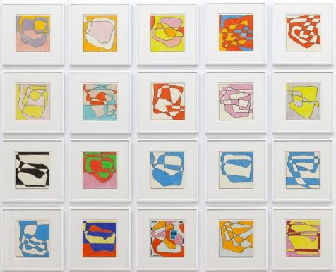 Heinz Butz, Ohne Titel, 2007 – 2008 Bleistift und Farbstift auf Papier.